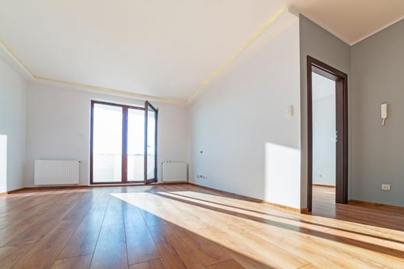 חלל פנימי של דירה חדשה