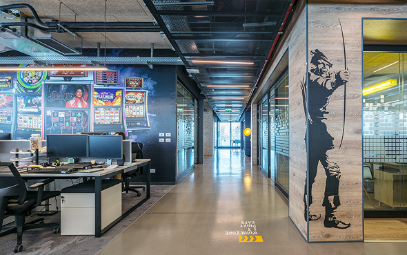 SciPlay's impressive Israeli offices. Photo: SciPlay