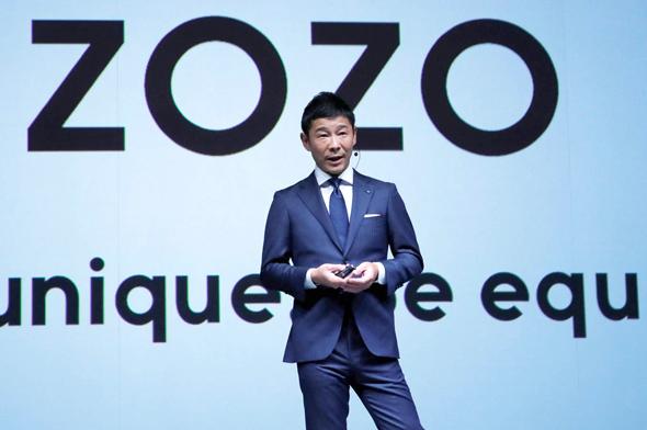 המיליארדר היפני יוסאקו מייזאווה