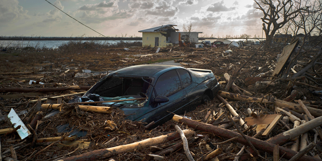 אחרי הוריקן דוריאן: תמונות מאיי הבהאמה ההרוסים