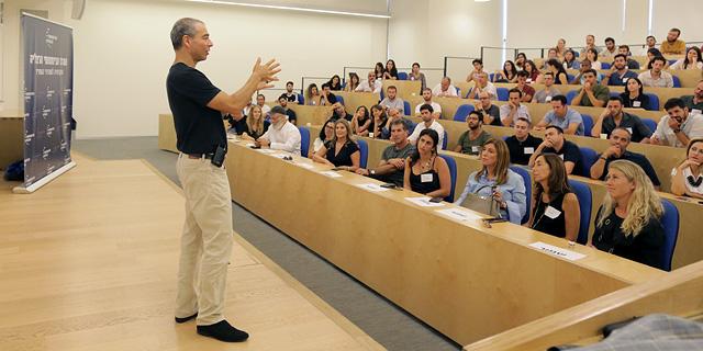 """פרד קופמן, סמנכ""""ל פיתוח מנהיגות בגוגל, צילום: עדי כהן צדק"""