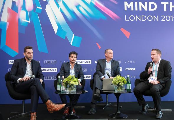 מימין: אביעד הראל, נמרוד קוזלובסקי, רפאל סוירי ותומר ווינגרטן
