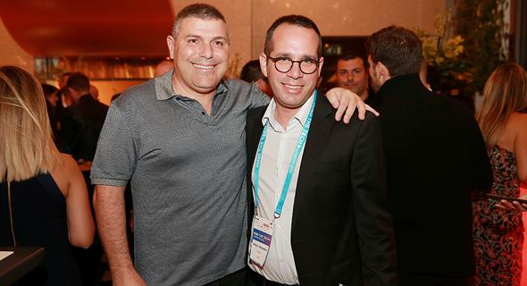 טדי שגיא (משמאל) והדן אורנשטיין, צילום: אוראל כהן