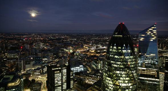 הסיטי של לונדון בערב פתיחת הוועדיה, צילום: אוראל כהן