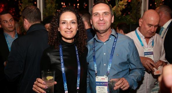 מימין גיא הלר ותמי גוברמן, צילום: אוראל כהן