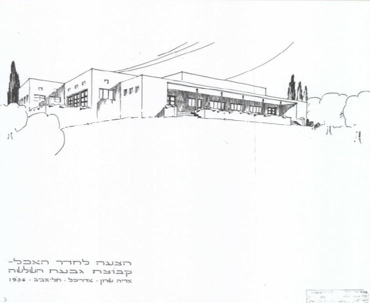 תוכנית ההצעה של האדריכל אריה שרון