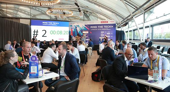 מפגש בין יזמים ישראלים למשקיעים בוועידת לונדון
