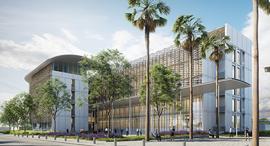 הדמיה של מתחם המשרדים החדש של רשות שדות התעופה , הדמיה: אפשטיין ניהול פרויקטים