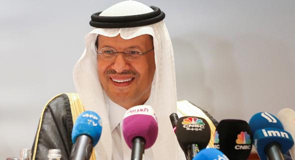 שר הנפט הסעודי  עבדול עזיז בן סלמאן