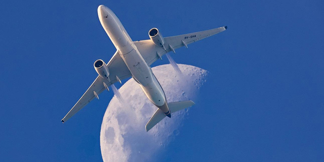 גבוה, מעל העננים: תמונות מרהיבות של מטוסים