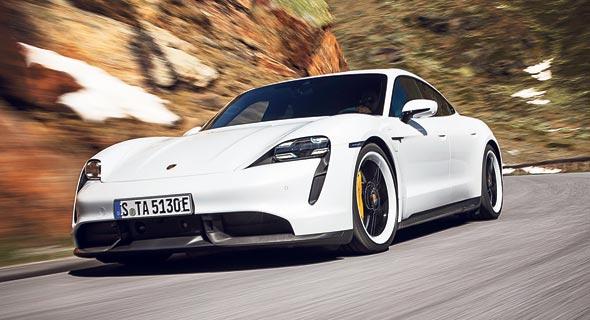 Porsche vehicle. Photo: Delia Baum