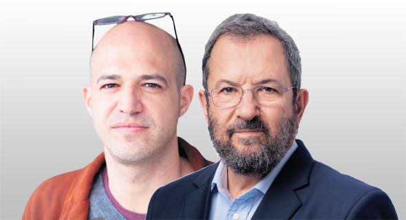 """מימין:  יו""""ר אינטרקיור אהוד ברק ובעל השליטה בתיקון עולם צחי כהן"""