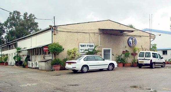 מפעל הבונים בקיבוץ כפר הנשיא