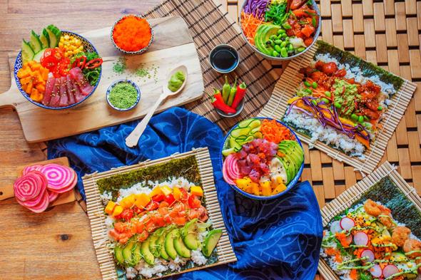 סושי משוק האוכל החדש