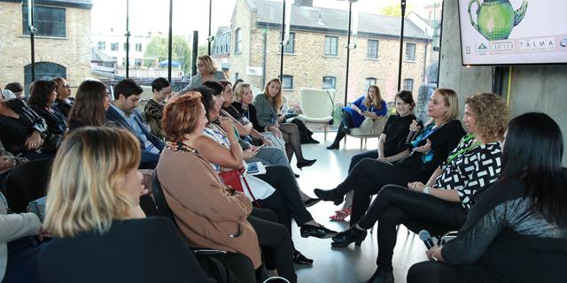 מפגש נשים יזמיות בוועידת לונדון, צילום: אוראל כהן