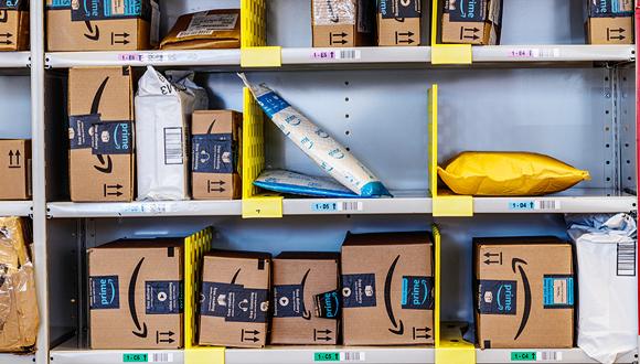 חבילות אמזון, צילום: שאטרסטוק