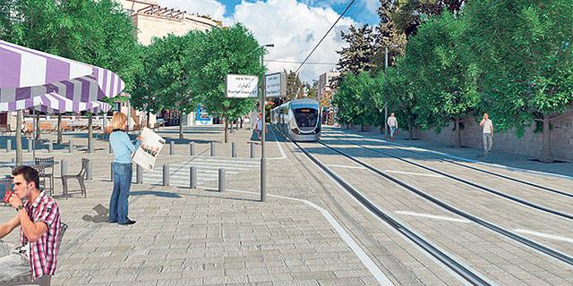 עיריית ירושלים אישרה השקעה בתשתיות תחבורה בהיקף של כמיליארד שקל