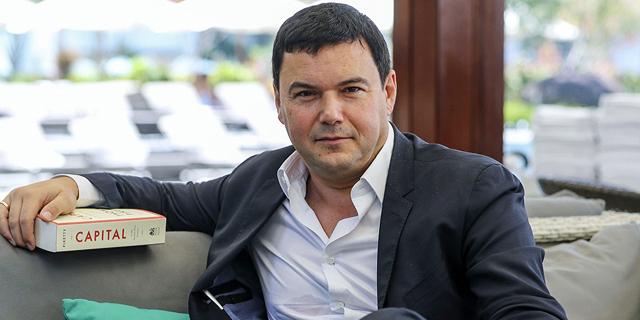תומאס פיקטי כלכלן צרפתי שיוויון ספר Capital and Ideology, צילום: scmp.com
