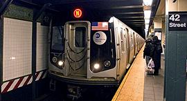 הרכבת התחתית בניו יורק, צילום: יונתן קסלר