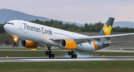 מטוס של תומאס קוק, צילום: Thomas Cook