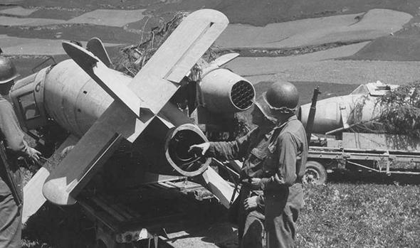 הקברניט מטוס חירום BA349 נאצים קשת, צילום: historynet
