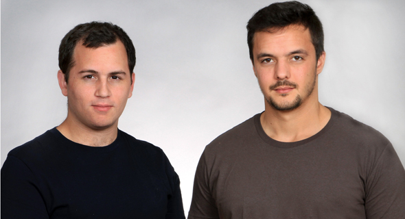 GK8 founders Shahar Shamai (left) and Lior Lamesh. Photo: Osnat Krasnanski
