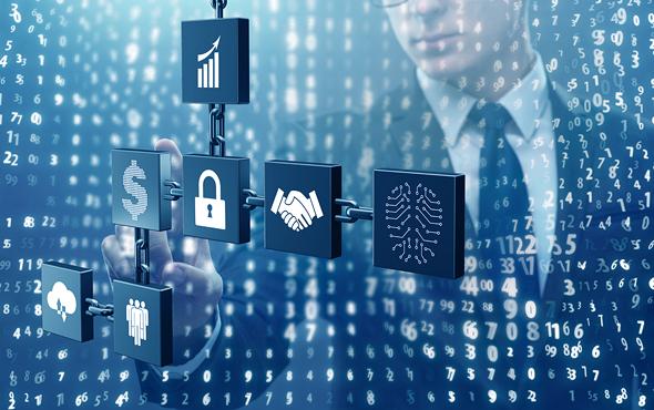 Blockchain technology (illustrative) Photo: Shutterstock