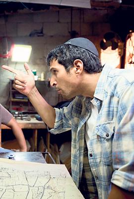 פנאי ימים נוראיים סרט יגאל עמיר, צילום: באדיבות סרטי יונייטד קינג