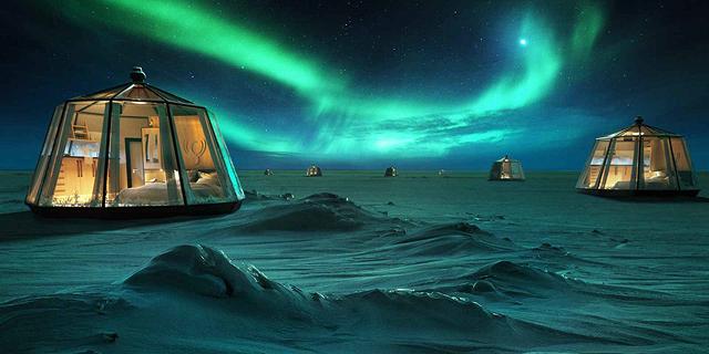 חדש בקוטב הצפוני: מלון יוקרה - ב-100 אלף דולר לשלושה לילות
