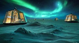 מלון קוטב צפוני North Pole Igloo Hotel 1, צילום: LUXURY ACTION