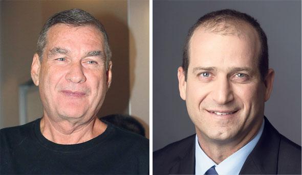 """מימין: מנכ""""ל מגדל רן עוז ו הדירקטור החדש חיים רמון, צילומים: רמי זרנגר, אוראל כהן"""