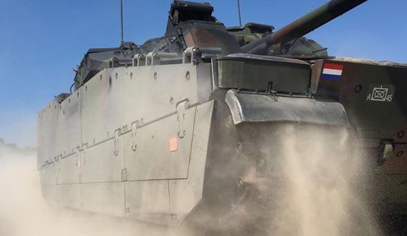 Dutch CV90 vehicle. Photo: BAE Systems