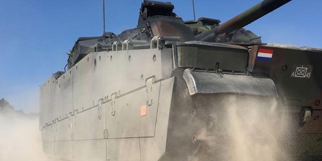 """צבא הולנד יצייד 150 נגמ""""שים במערכות של אלביט"""