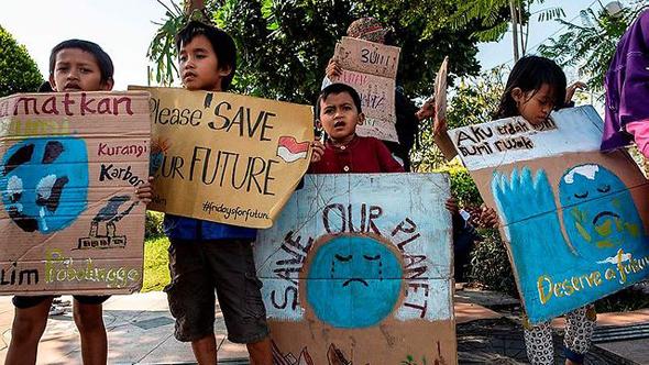 הפגנה באינדונזיה
