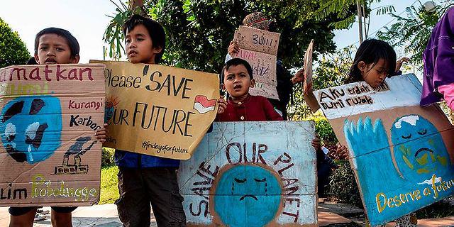 אפקט גרטה: מאות אלפי תלמידים ב-150 מדינות הפגינו למען עתיד כדור הארץ