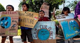 הפגנה באינדונזיה, צילום: איי אף פי