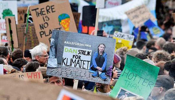 הפגנה בברלין