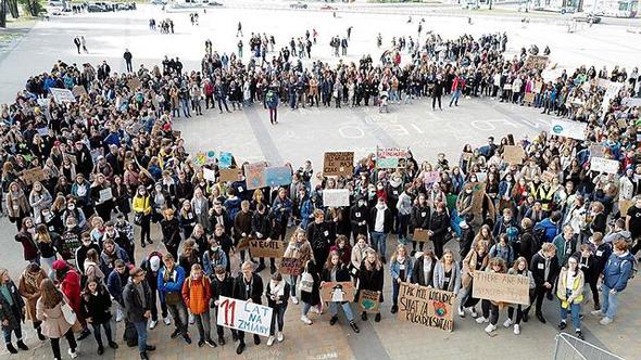 הפגנה בפולין, צילום: אי פי איי