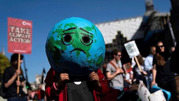 הפגנה בלונדון, צילום: אי פי איי