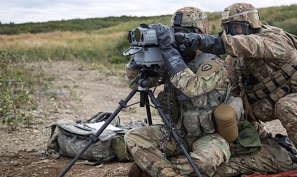 צוות תצפית באימון, צילום: US ARMY