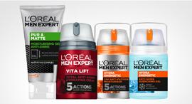 מוצרי טיפוח לגברים של לוריאל
