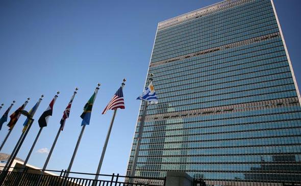 """בניין האו""""ם ניו יורק"""