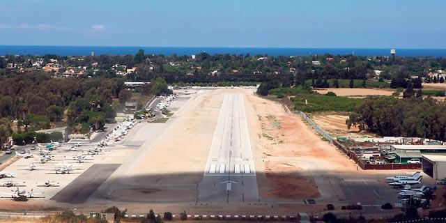 שדה תעופה הרצליה, צילום: עמית שעל