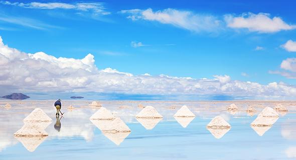 נוף עם טעם: מישורי המלח היפים בעולם
