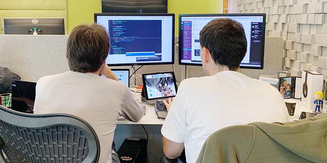 עובדים בחברת אוטודסק, צילום באדיבות: אוטודסק תל אביב