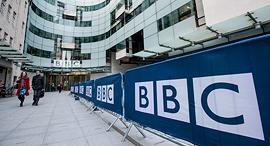 מטה רשות השידור הבריטית BBC לונדון, צילום: גטי אימג'ס