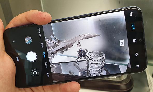 ממשק המצלמה