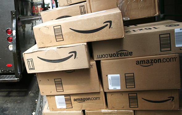 Amazon packages delivery. Photo: AP