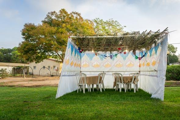 A Sukkah. Photo: Shutterstock