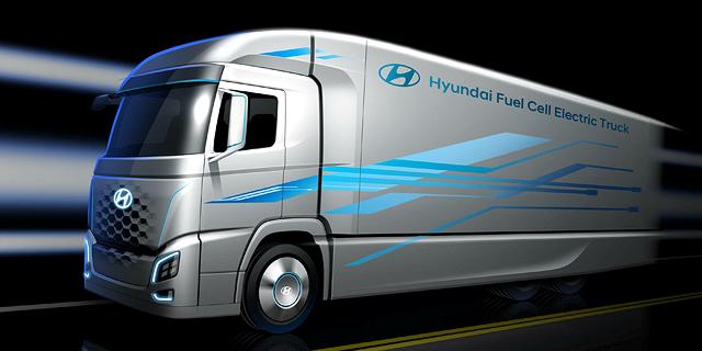 יונדאי תבצע בישראל ניסוי נרחב במשאיות המונעות במימן